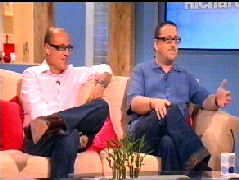 Santilli & Shoefield together on Richard & Judy C4 Show